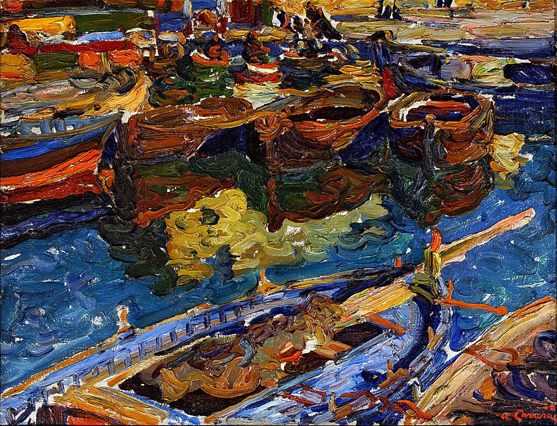 Barques au port