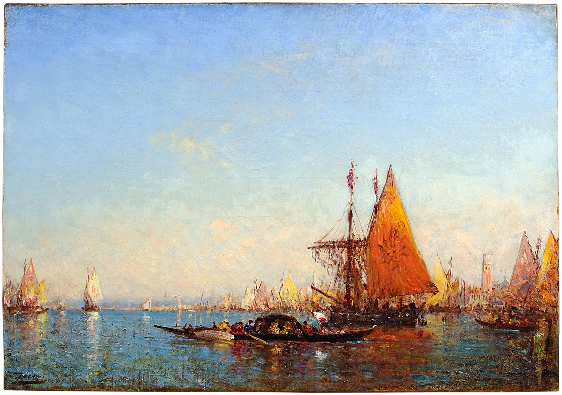 Bateaux à Chioggia
