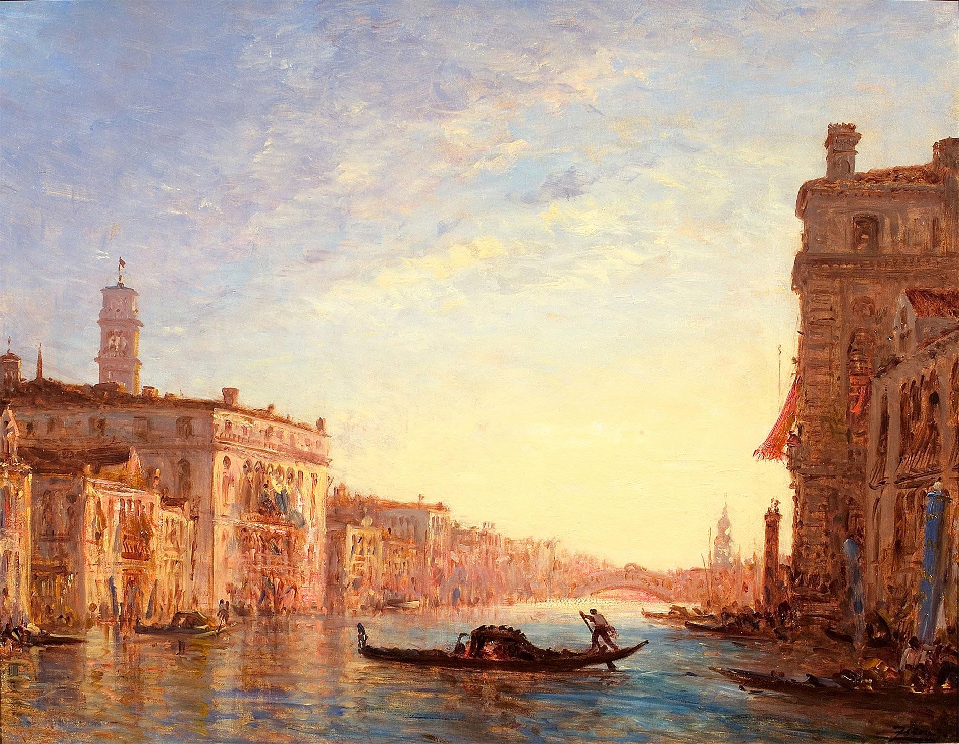 Venise, le grand canal