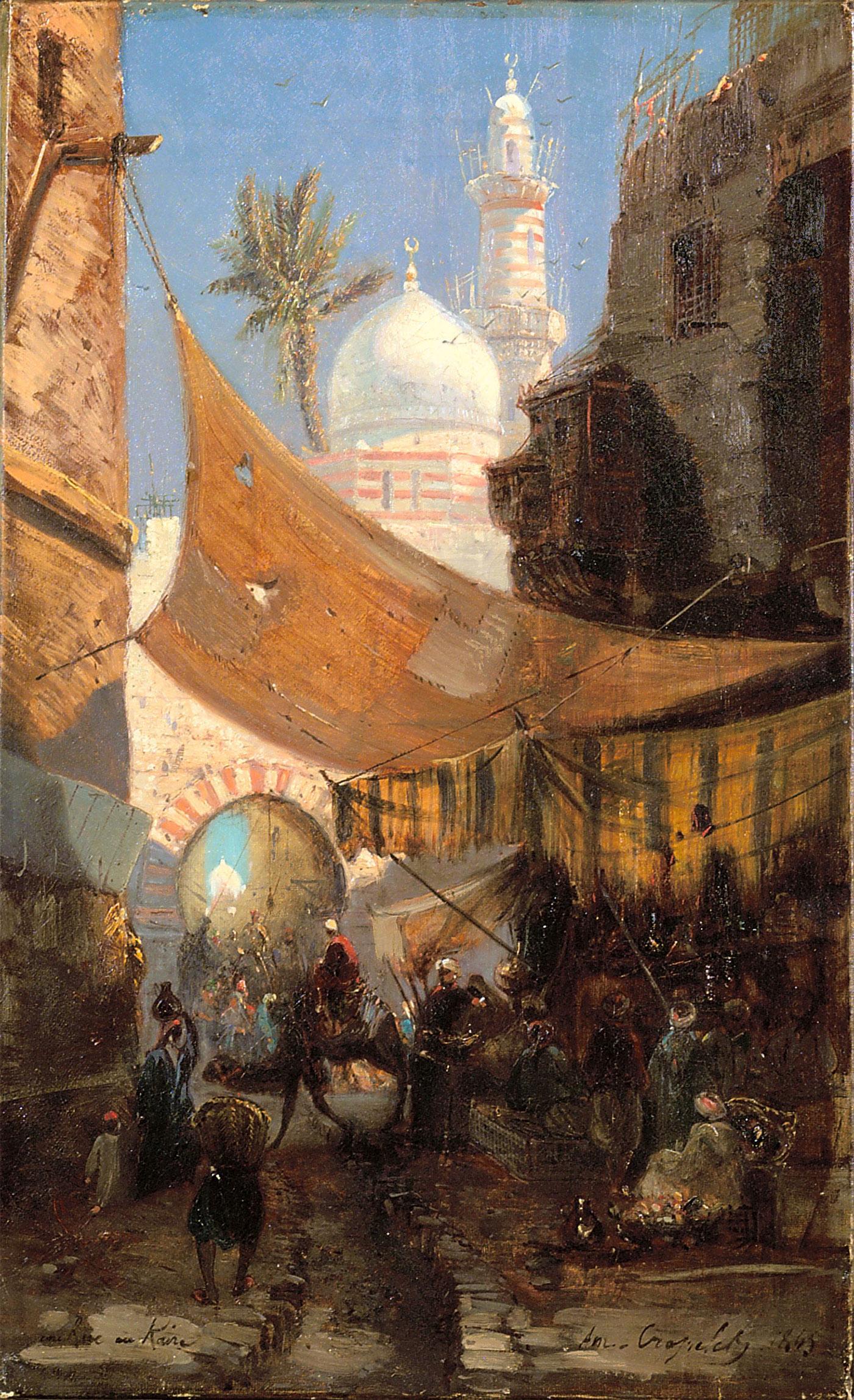 Ruelle au Caire