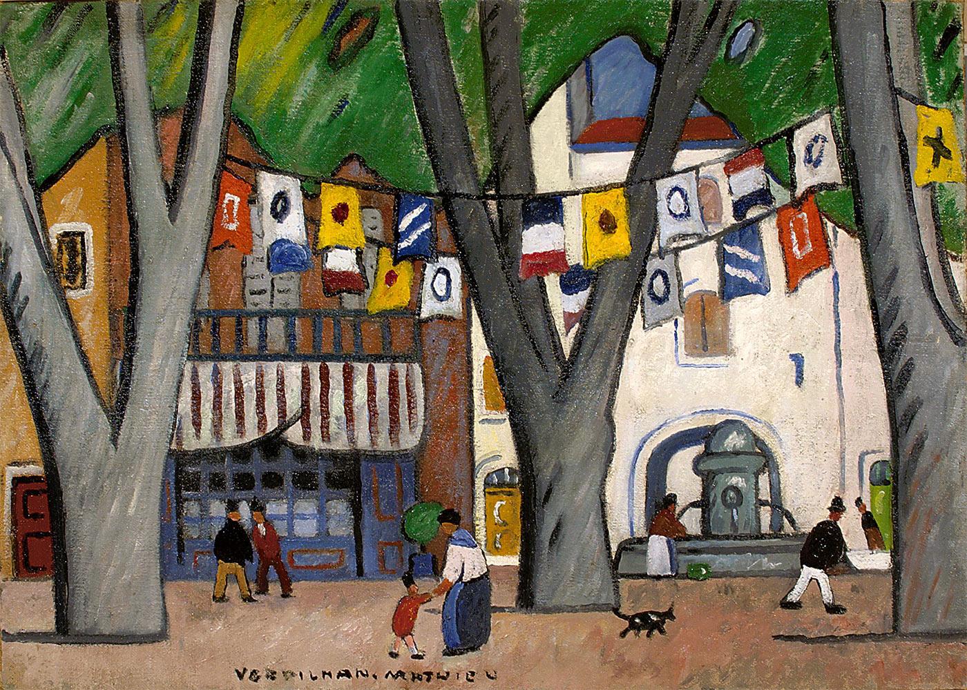 Fête de village en Provence