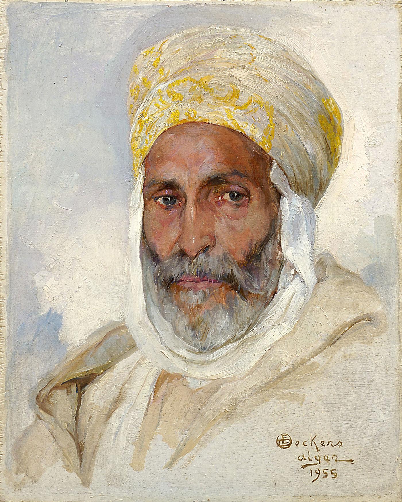 Portrait d'arabe