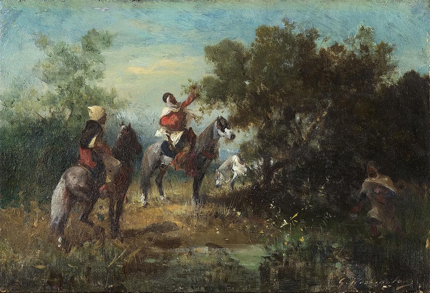 Les chameliers et Les cavaliers