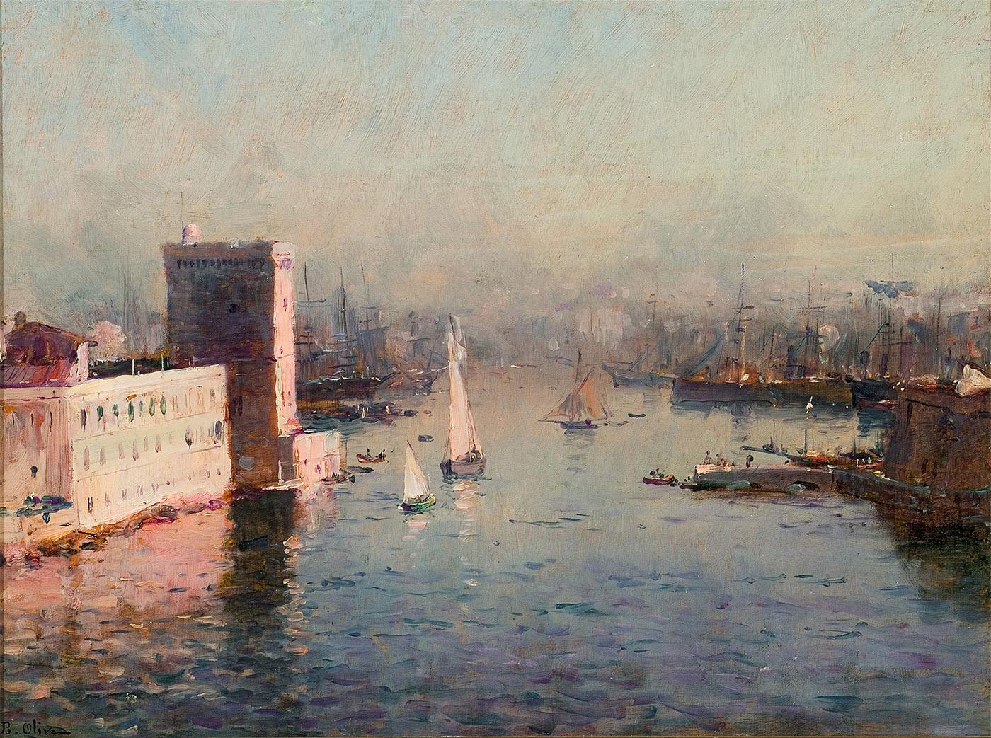 Entrée du Vieux-Port de Marseille