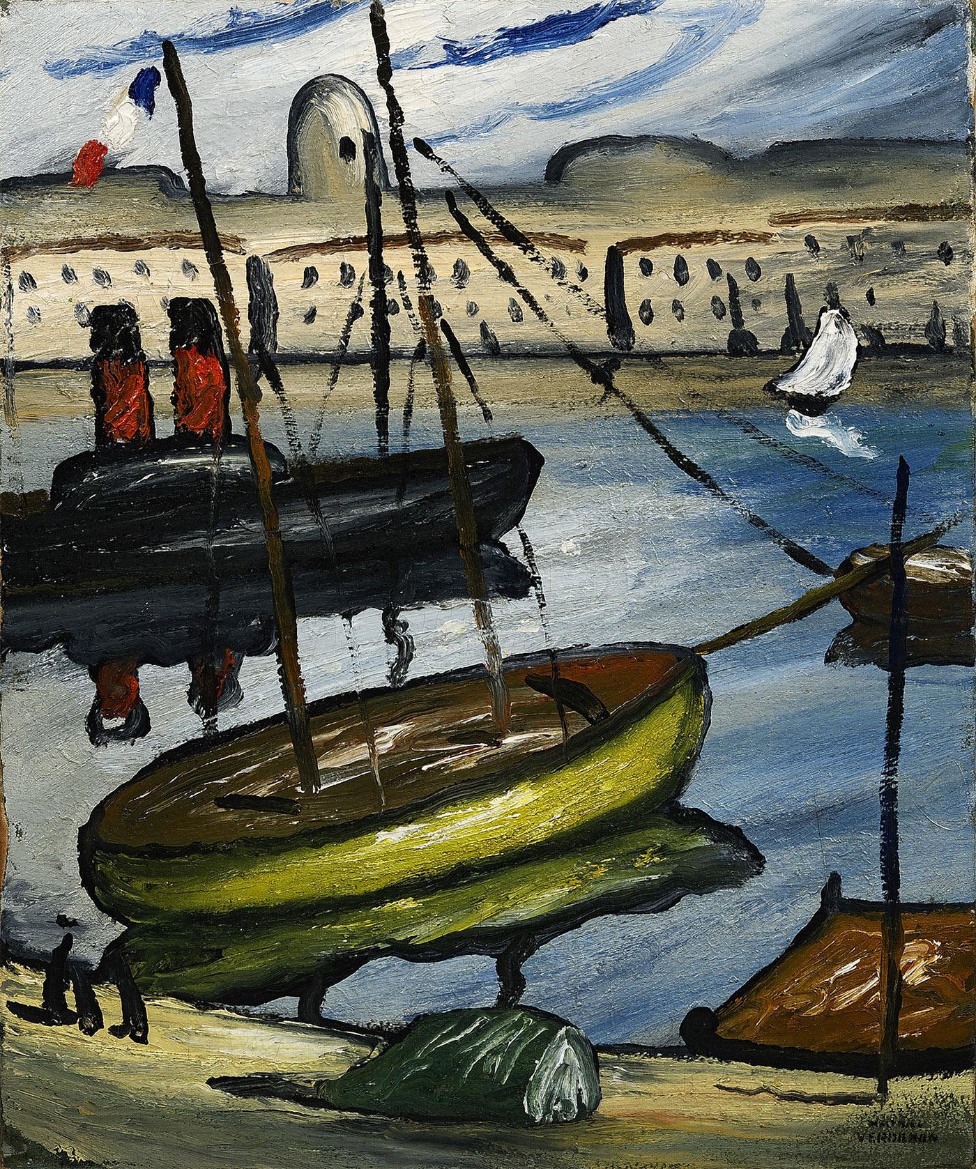 Remorqueur dans le port de Marseille