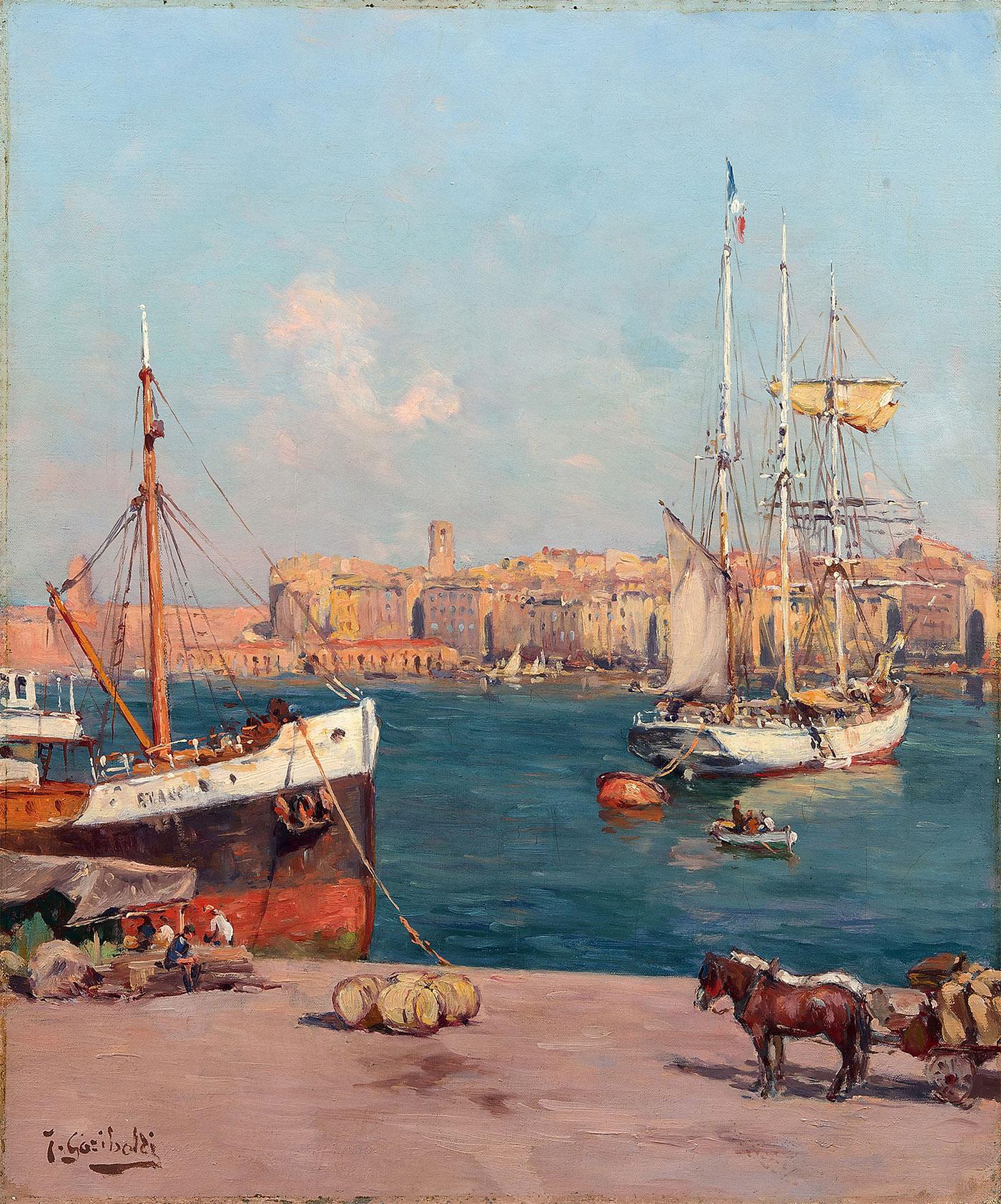 Peintres proven aux galerie david pluskwa - 5 rue vincent courdouan 13006 marseille ...