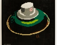 lenz Hemp green 76,5x76,5cm