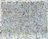 001 2015-Road Games,  acrylique sur toile, 185 x 250 cm