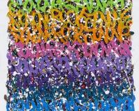 005 2015-Stay Ready, acrylique sur toile, 200 x 180 cm