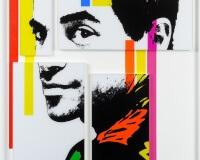 Jerome Revon Jon I 142 x 100 cm assemblages photos et acryliques 2400px