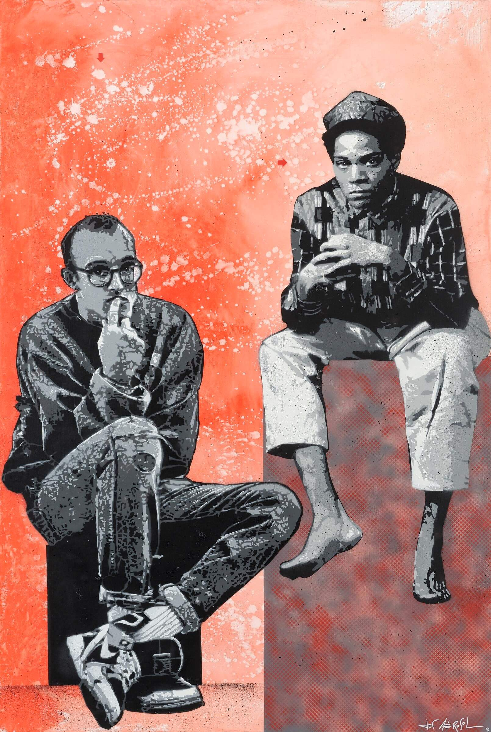 Jean-Michel Basquiat & Keith Haring
