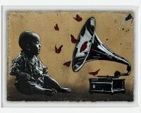 JEF AEROSOL gramophone carton 80x112cm