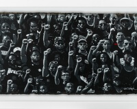 JEF AEROSOL stand up for your rights carton 59x100cm
