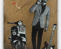 JEF AEROSOL we are the mods! carton 198x142cm