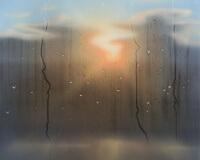 8h23min20sec, Provence, 65x50cm, Acrylique sur toile et plexiglas, 2017 2400