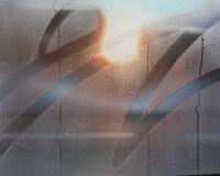 8h44, Belfort, 65x50cm, Acrylique sur toile et plexiglas, 2017 1350Ôé¼ 2400
