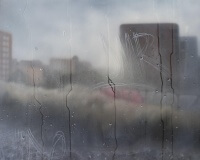 15h02, Barcelone, 73x100cm, Acrylique sur toile et plexiglas, 2017 2400