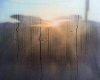 8h22, Provence, 146x97cm, Acrylique sur toile et plexiglas, 2018 2400