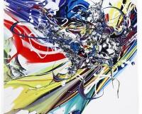 FRIDRIKS Super Sonic & Divine Wonders II 70x70+5cm 2017 1000