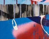 TILT Layers23- 2017 195x130cm Techniques mixtes sur toile 2400