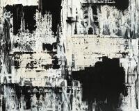 Abstract Shit , 120x120cm acrylique sur toile 4400Ôé¼