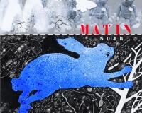 Matin Soir , 2015 techniques mixtes sur toile , 30x30cm 3300Ôé¼