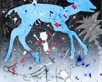 Possible n-¦3 , 2015 techniques mixtes sur toile , 30x30cm 3300Ôé¼