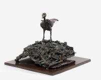 OK -½ Eiffel souvenir -+ 1986 Bronze soud+®, 3_8 Fondeur Bocquel 34 x 39.5 x 39 cm Prix 53000Ôé¼ _2400
