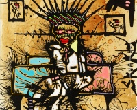 African Queen , 2020 61x50cm 1450Ôé¼