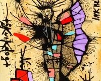 Burlin Angel , 2020 61x50cm 1450Ôé¼