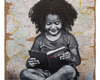 5- Reading Kerouac, 127x97cm 7500€