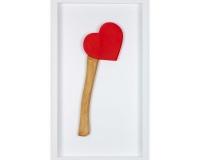 Happy Valentine's 2020 , Résine et acylique 33x15x3,5cm 2_6 2300€