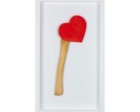 Happy Valentine's 2020 , Résine et acylique 33x15x3,5cm 5_6 2300€