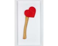 Happy Valentine's 2020 , Résine et acylique 33x15x3,5cm 6_6 2300€