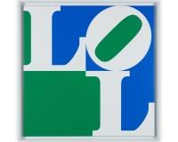 LOL 3 acrylique sur toile 100x100x2cm 4200Ôé¼