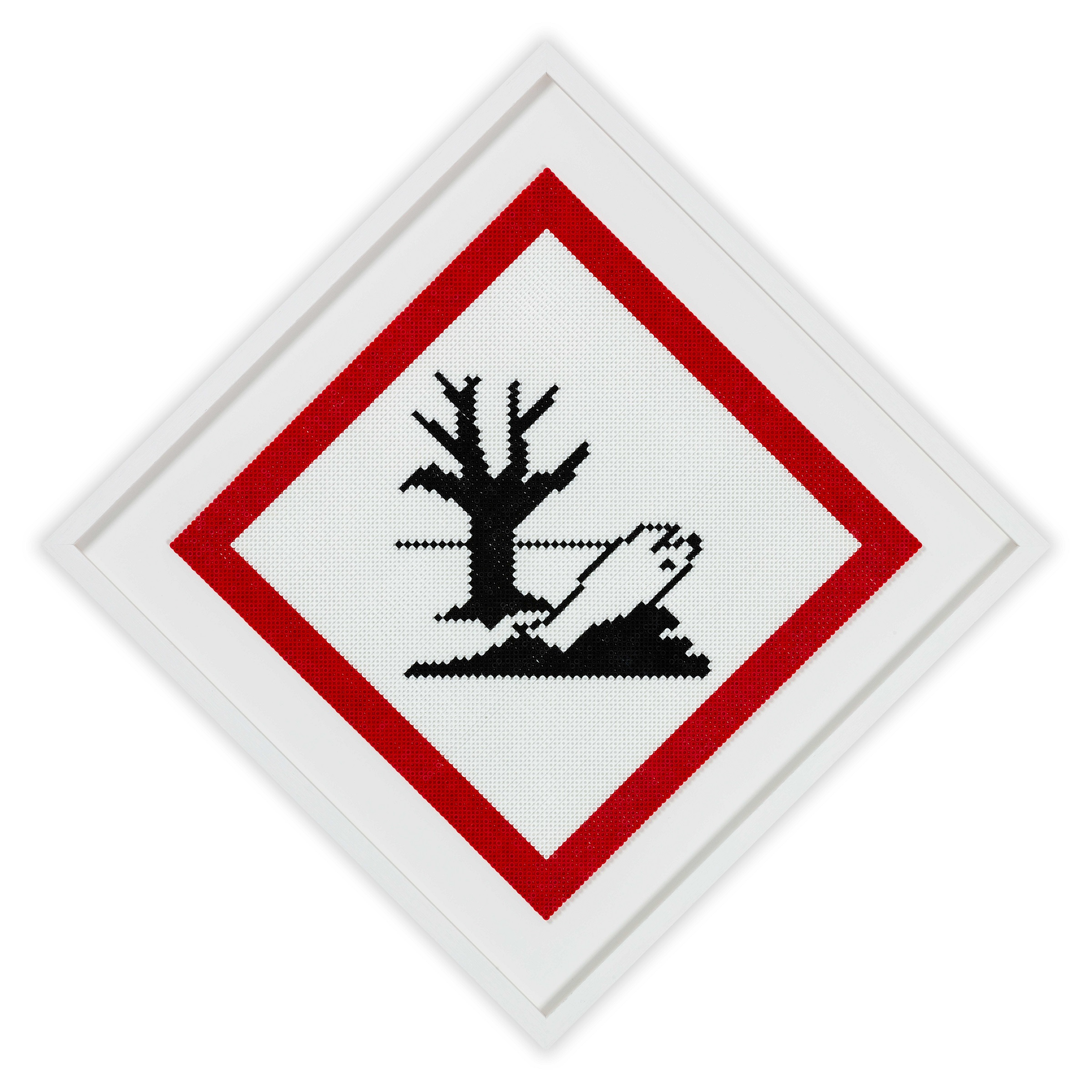 PLASTIC WARNING SIGN 2/4 – 2020