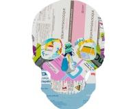 Skull 1_8 2020 , Collages sur carton 42x29,7cm 1600€
