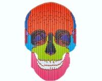 Skull 2 2020 124X88cm assemblages crayons 7200Ôé¼