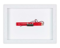 Small Dynamite 5_9 techniques mixtes et crayons 21x28x4cm 1300€