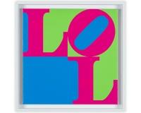 Small LOL 2 acrylique sur toile 50x50x2cm 1800Ôé¼